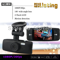 Novatak 96650 G1WH Car Camera DVR Full HD 1920*1080@30FPS With WDR + 140 Degree Angle Lens + G-Sensor CPAM Free Shipping