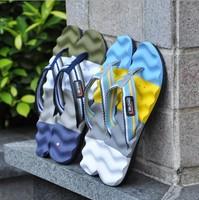 1PC NEW 2014 Men slip wear-resisting rubber flip-flops summer beach cool slippers, men's shoes fashion