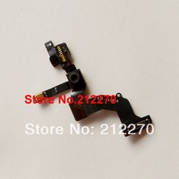 10pcs/lot Proximity Sensor Light Motion Flex Cable w/ Front Face Camera For iPhone 5 Free Shipping