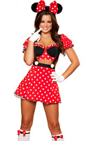 Miss Mouse Costume LC8719 Cheap price Drop Shipping halloween costumes for women