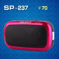 Gold sp-237 small digital audio card mini speaker radio