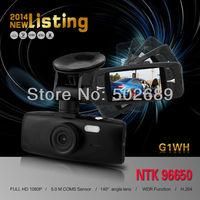 G1WH Car DVR 1920*1080P Full HD 30FPS Camera 2.7 Screen 140 Degree Wide Angle + G-sensor H.264 Video Recorder Dash Cam