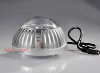 CCTV Surveillance IR Illuminator Dome 3800mW 850nm LED Array 120m For Camera 120 degrees Silver Invisible Indoor LSZ-100MA