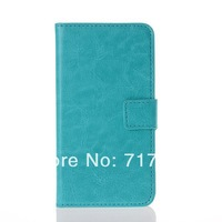 high quality crazy horse Pu leather wallet case cover for LG G2 free shipping