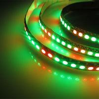 0.5M 72 Pixels WS2812B Chip White PCB WS2811 IC Digital 5050 RGB LED Strip DC5V