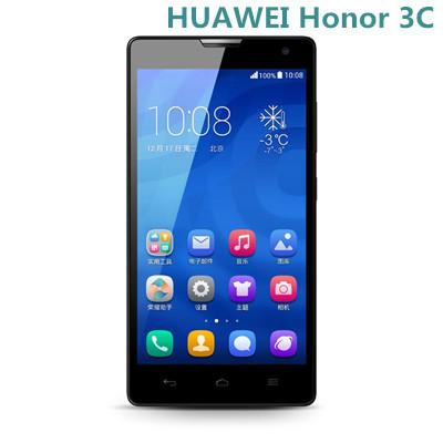 Original HUAWEI Honor 3C LTE 4G Quad Core Mobile Phone 5 Inch 1280x720 pixels 8.0 Camera CDMA2000 Cell Phones(China (Mainland))