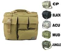 Outdoor Tactical Military Backpack Computer Bag Hunting Hiking Camping Field Patrol Oxford Single-shoulder Bag free shipping