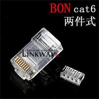 Gigabit Network RJ45 Cat6 Modular Plugs Connector For Cat6 cable -- Unshielded Plug - RJ45 Network Cable Connector