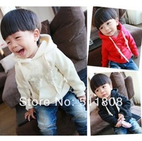 free shipping! 2013 New Arrive cotton children coat casual boy hoody autumn in stock brand kid jacket Wholesale and Retail
