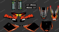 New style (0252) Team KTM 3M DECALS STICKERS Graphics Kits for KTM SX50 50CC 50 50SX FOR KTM50 2002 2003 2004 2005-2007 2008