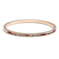 Fashion jewelry  bracelet 18k rose  gold bangles