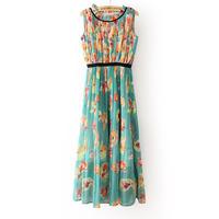2013 summer fashion slim pleated brief one-piece dress female