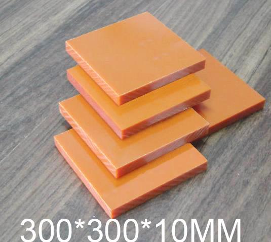 10mm thickness Bakelite sheet,Phenolic laminate,300*300*10MM Phenolic resin plate,Insulation board(China (Mainland))