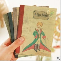 Free shipping, Vintage paper prince stationery notebook,Cute notebook,small notepads,notepad,school supplies,wholesale(SS-3991)