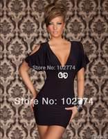 summer dress 2014 Supply black clothing wholesale club sexy lingerie black clubwear sexy costumesN096