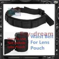 Adjustable Padded Waist Belt Strap For Lens Bag Case Holder Pouch Case PP171