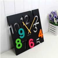 Fashion mute wall clock creative wall clock modern style design