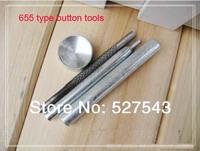 Free shipping 655 snap fasterner installing tool set DIY tools kit