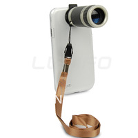 Universal 8x Optical Zoom Lens With Crystal Clear Case For Apple iPhone 4 4S 5 5S 5C
