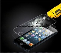 For iPhone 5 5G 5C 5s Premium Tempered Glass Film Screen Protector Cover & Package