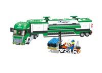 WANGE High Quality Blocks Truck Series 463 Pcs LGO Compatible