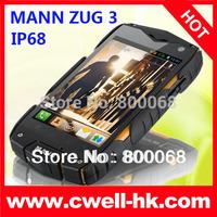 MANN ZUG 3 IP68 Waterproof Rugged Smartphone 4.0 Inch IPS Screen Dual SIM WIFI GPS 5.0MP Camera