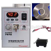 High accuracy Micro-computer Pedal control battery spot welder Portable touch welder spot welding machine+5mm 1KG Nickel sheet