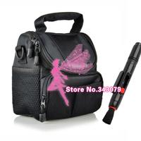 2 in 1 Lens Cleaning Pen Lens pen + Camera Case Bag for NikON D7100 D7000 D5200 D5100 D3200 D3100 D800 D600 D90 L810  L310 D70