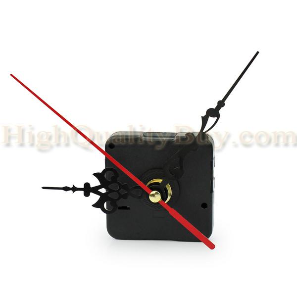New Quartz Wall Clock Spindle Movement Mechanism Repair Part Kit Black Diy Tool Hand Work(China (Mainland))