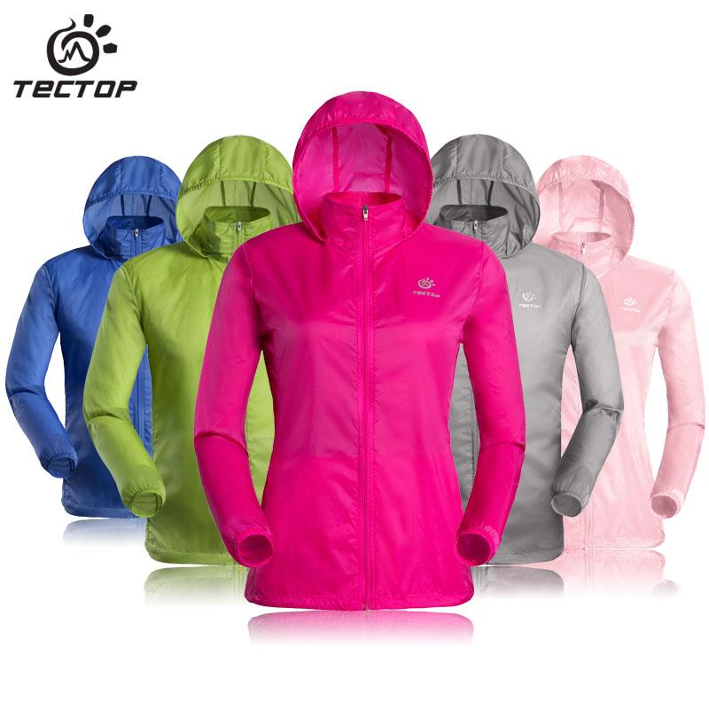 Outdoor Men Women's Fast Drying Anti-UV Waterproof Wind Protector Rain Ultralight Ultra-thin Skin Jacket Cycling Jersey(China (Mainland))