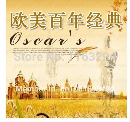 Europe and America a century old classic English songs 6CD car CD disc auto CD Oscar Music Vinyl CD 8u9u(China (Mainland))