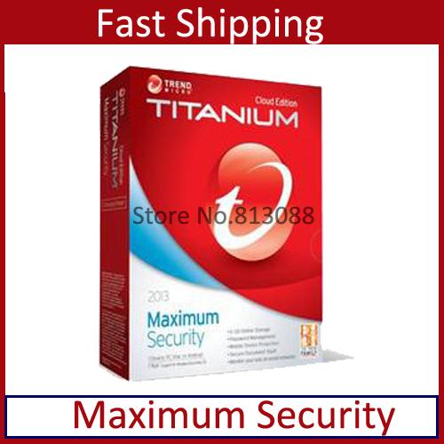 100% de trabajo trend micro de titanio maxmium seguridad 2014/2013 pc
