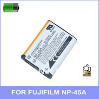 original 1:1 camera Battery NP-45A NP 45A for FUJIFILM digital J10 J25 J35 Z300 Z31 Z71 Z707EXR JX255 2pcs/lot free shipping