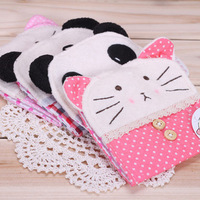 Free shipping Free shipping 3515 cartoon pink sanitary napkin bag plush storage bag new arrival handmade cat hudian