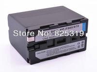 2 pcs/lot NP-F970 NPF970 NP-F960 NP-F950 NPF970 NPF960 BATTERY FOR SONY Camera HDR-FX1 HDR-FX7 HD1000U HVRZ1U