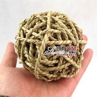 Free Shipping! Straw ball pet odontoprisis toys time rabbit totoro guinea-pig 50g