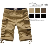 New 2014 Casual shorts summer Fashion for men Military Training camo cargos shorts Outdoor Walk Plus size 30~40