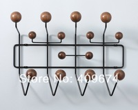 FREE SHIPPING TO WORLDWIDE! Charles and Ray EAMES HANG IT ALL COAT RACK WALNUT LIMITED EDITION