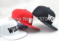 Hot sell !2014 New fashion EXO  wolf leisure baseball caps,fashion hip hop flat along snapback cap/hat free shipping
