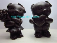 2014 Hot Sale Top Fasion Freeshipping Heart of Love Flower A Pair of Bigs Gift of 3d Cake Mold Rubber Chocolate Wedding 2pcs