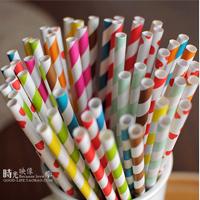 popular drinking paper straws