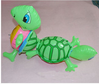 free shipping 10pcs/lot  lovely inflatable Standing the tortoise water toys ,children toys
