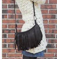 2014 New product fashion Tassels PU The single shoulder messenger  women bag