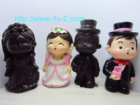 2014 Seconds Kill New Arrival Freeshipping Rubber Moulds Sgs Lfgb Wedding Dress of Boy And Girl Soap Mold Cake Rubber Chocolate