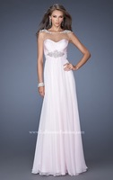 2014 New Arrival Pale Pink Floor-Length Evening Dress Formal Gown All Sizes or Made to Measure