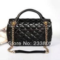 HOT sell new 2014 women leather handbags sheepskin messenger bags shoulder bag desigual channel bag lady handbag