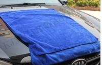 K501 60x160CM high quality more strong Blue Microfiber Towel Car Wash Cleaning Polish Cloth car wash towel
