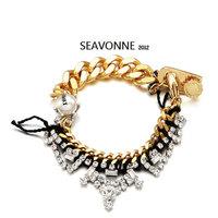 Free Shipping 2014 Vintage Metal Fashion Hot Wholesale crystal Lace Bangle and Bracelet dropshipping  B