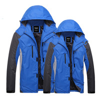 Sports outdoor wadded jacket male women's cotton-padded jacket winter clothes autumn and winter outerwear winter lovers