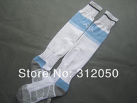 Men's thai quality soccer socks world cup national team argentina home white football sock free shipping